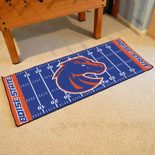 Boise State Broncos Football Field Runner Rug