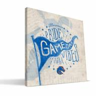 Boise State Broncos Gameday Vibes Canvas Print