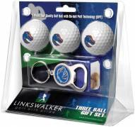 Boise State Broncos Golf Ball Gift Pack with Key Chain