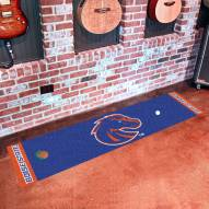 Boise State Broncos Golf Putting Green Mat