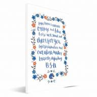 Boise State Broncos Hand-Painted Song Canvas Print
