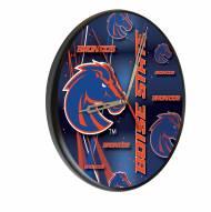 Boise State Broncos Digitally Printed Wood Clock