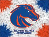 Boise State Broncos Logo Canvas Print
