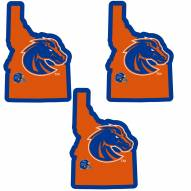 Boise State Broncos Home State Decal - 3 Pack