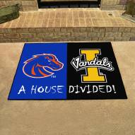 Boise State Broncos/Idaho Vandals House Divided Mat