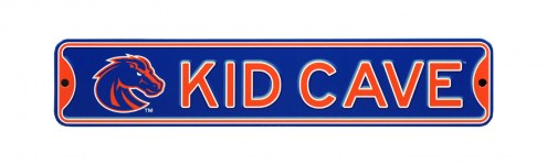 Boise State Broncos Kid Cave Street Sign