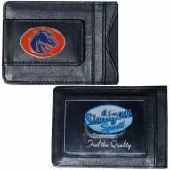 Boise State Broncos Leather Cash & Cardholder