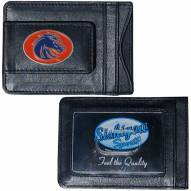 Boise State Broncos Leather Cash & Cardholder