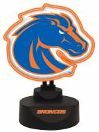 Boise State Broncos Team Logo Neon Light