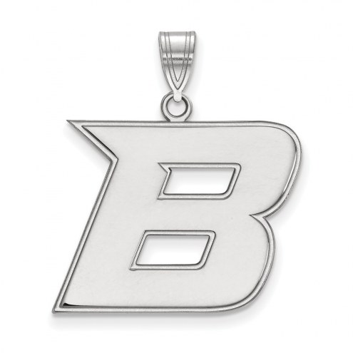 Boise State Broncos NCAA Sterling Silver Large Pendant