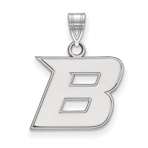 Boise State Broncos NCAA Sterling Silver Small Pendant