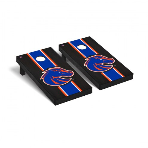 Boise State Broncos Onyx Stained Cornhole Game Set