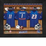Boise State Broncos Personalized Locker Room 11 x 14 Framed Photograph