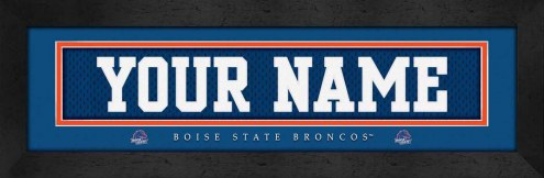 Boise State Broncos Personalized Stitched Jersey Print