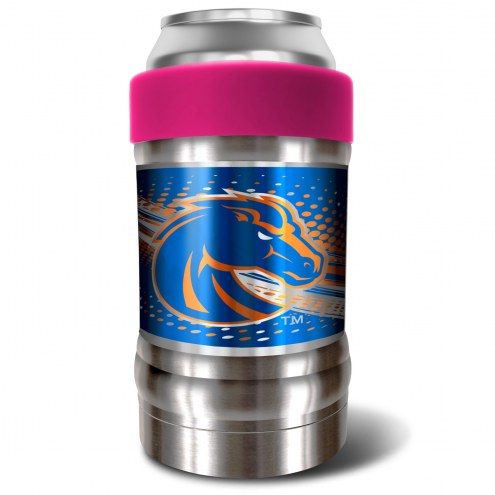 Boise State Broncos Pink 12 oz. Locker Vacuum Insulated Can Holder