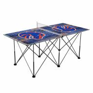 Boise State Broncos Pop Up 6' Ping Pong Table