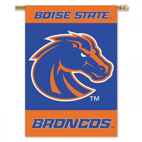 "Boise State Broncos Premium 28"" x 40"" Two-Sided Banner"