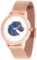 Boise State Broncos Rose Mesh Statement Watch