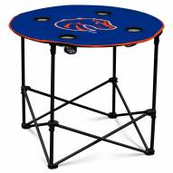 Boise State Broncos Round Folding Table