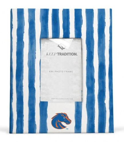 Boise State Broncos School Stripes Picture Frame