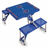 Boise State Broncos Sports Folding Picnic Table
