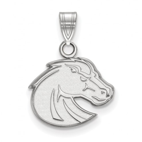 Boise State Broncos Sterling Silver Small Pendant