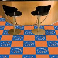 Boise State Broncos Team Carpet Tiles