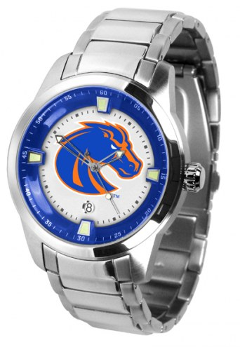 Boise State Broncos Titan Steel Men's Watch