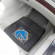 Boise State Broncos Vinyl 2-Piece Car Floor Mats