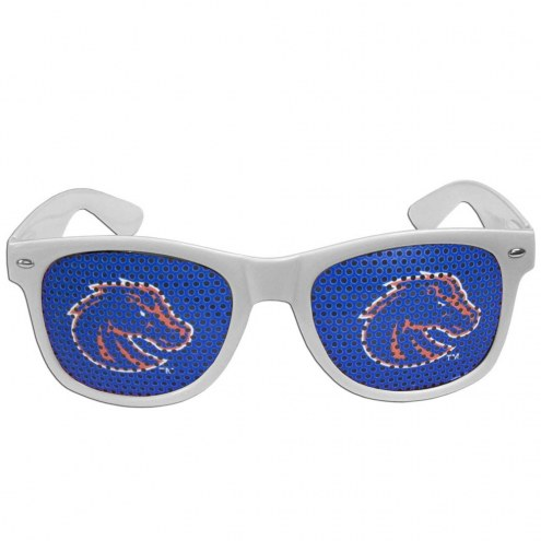Boise State Broncos White Game Day Shades