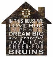 "Boston Bruins 12"" House Sign"