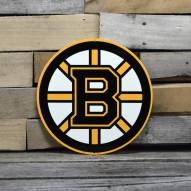 "Boston Bruins 12"" Steel Logo Sign"