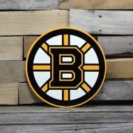 "Boston Bruins 12"" Steel Logo Sign"
