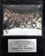 "Boston Bruins 12"" x 15"" 2010-2011 Stanley Cup Celebration Plaque"
