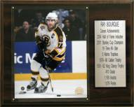 "Boston Bruins 12"" x 15"" Ray Bourque Career Stat Plaque"