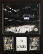 "Boston Bruins 12"" x 15"" TD Garden Arena Plaque"