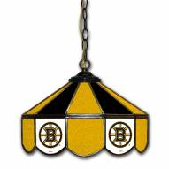 "Boston Bruins 14"" Glass Pub Lamp"