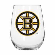Boston Bruins 16 oz. Gameday Curved Beverage Glass