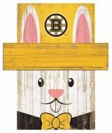 "Boston Bruins 19"" x 16"" Easter Bunny Head"