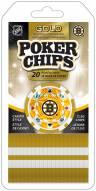 Boston Bruins 20 Piece Poker Chips Set