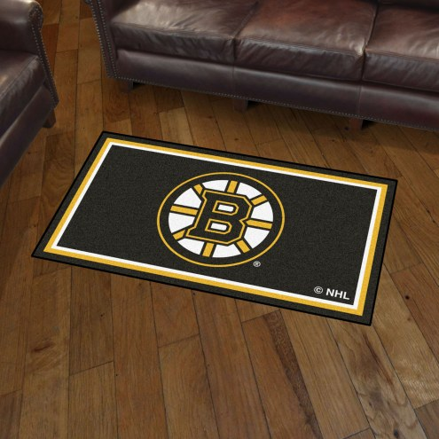 Boston Bruins 3' x 5' Area Rug