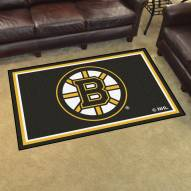 Boston Bruins 4' x 6' Area Rug
