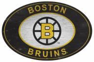 "Boston Bruins 46"" Heritage Logo Oval Sign"