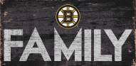 "Boston Bruins 6"" x 12"" Family Sign"