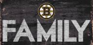 "Boston Bruins 6"" x 12"" Family Sign"