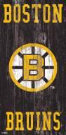 "Boston Bruins 6"" x 12"" Heritage Logo Sign"