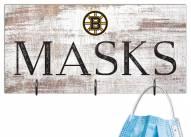 """Boston Bruins 6"""" x 12"""" Mask Holder"""