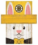 "Boston Bruins 6"" x 5"" Easter Bunny Head"