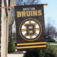 Boston Bruins Applique Banner Flag