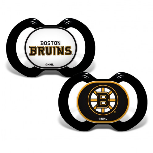 Boston Bruins Baby Pacifier 2-Pack